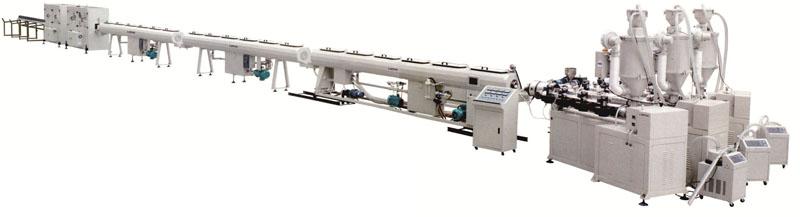 Glass fiber reinforced PP-R composite pipe production line