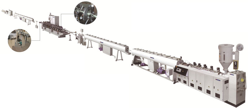 PP-R/Aluminum composite pipe production line