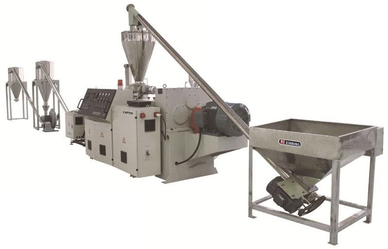 PE, PP, PVC pelletizing production line WPC