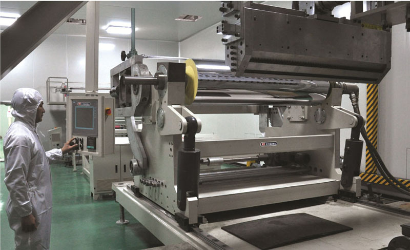 XRGP series of PMMA / PS / PC sheet extrusion line